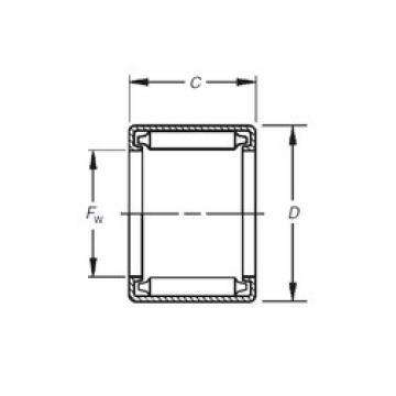 Timken B-1010 needle roller bearings