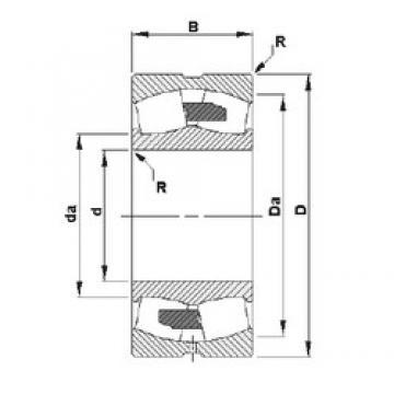 630 mm x 850 mm x 165 mm  Timken 239/630YMB spherical roller bearings