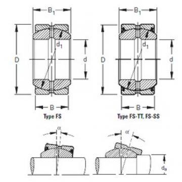 Timken 100FS150 plain bearings