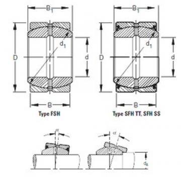 Timken 220FSH340 plain bearings