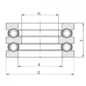 ISO 52217 thrust ball bearings