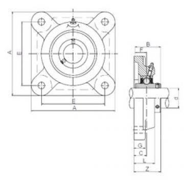 ISO UCFX12 bearing units