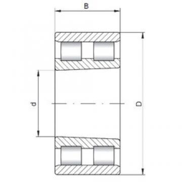 100 mm x 140 mm x 40 mm  ISO NN4920 K cylindrical roller bearings