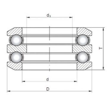 ISO 54240 thrust ball bearings