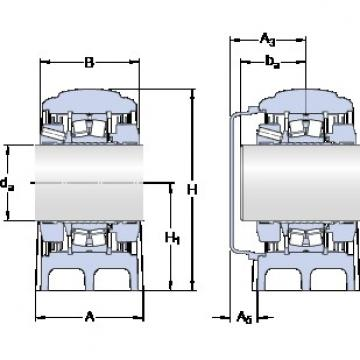 SKF SYNT 35 FTS bearing units
