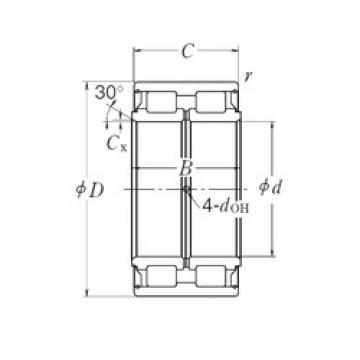 85 mm x 130 mm x 60 mm  NSK RS-5017 cylindrical roller bearings