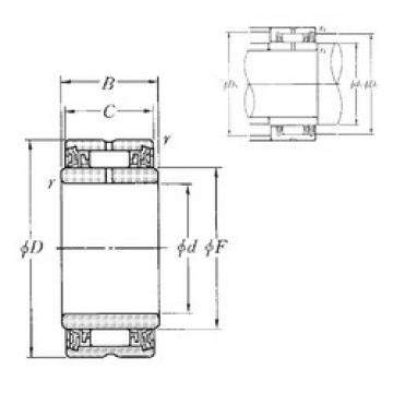 NTN NA4908LL needle roller bearings