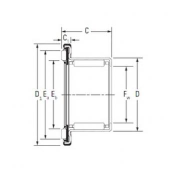 KOYO RAX 735 complex bearings