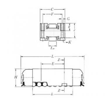 NTN RLM19×69 needle roller bearings
