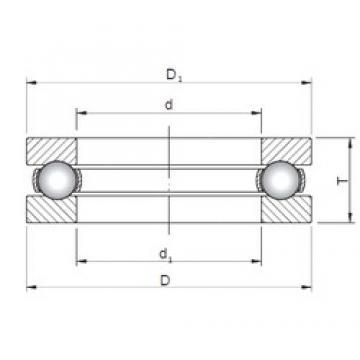 ISO 51330 thrust ball bearings