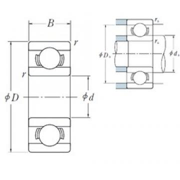 7 mm x 13 mm x 3 mm  ISO MR137 deep groove ball bearings
