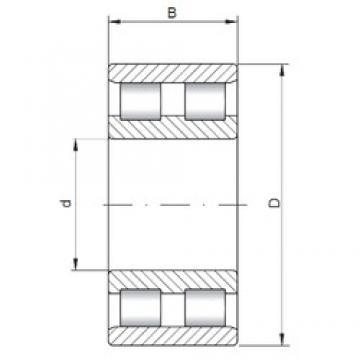 75 mm x 115 mm x 30 mm  ISO NN3015 cylindrical roller bearings
