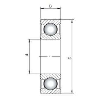 65 mm x 120 mm x 23 mm  ISO 6213 deep groove ball bearings