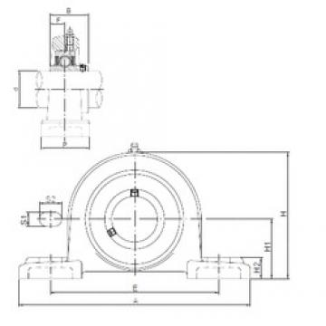 ISO UCP308 bearing units