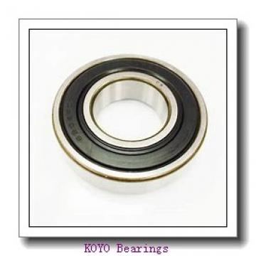 4 mm x 9 mm x 2,5 mm  KOYO F684 deep groove ball bearings