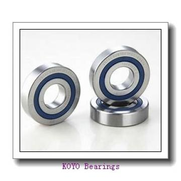 7 mm x 19 mm x 6 mm  KOYO F607ZZ deep groove ball bearings