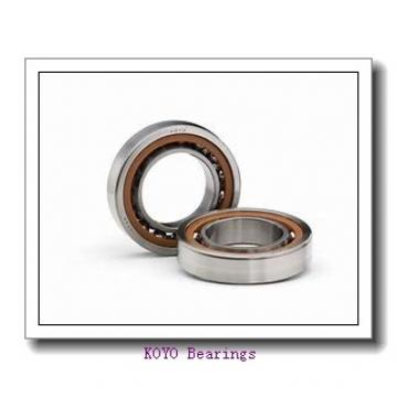 40 mm x 85 mm x 49,2 mm  KOYO UCX08 deep groove ball bearings