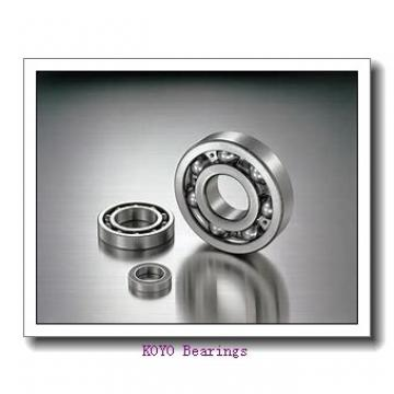 380 mm x 520 mm x 65 mm  KOYO 6976 deep groove ball bearings