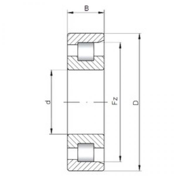 220 mm x 460 mm x 145 mm  ISO NF2344 cylindrical roller bearings #2 image