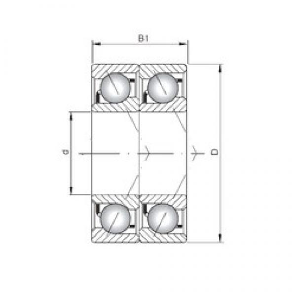 ISO 7230 ADT angular contact ball bearings #2 image