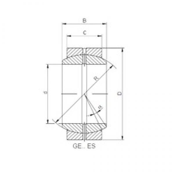 260 mm x 370 mm x 150 mm  ISO GE260DO-2RS plain bearings #2 image