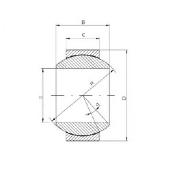 260 mm x 400 mm x 205 mm  ISO GE 260 HCR-2RS plain bearings #2 image