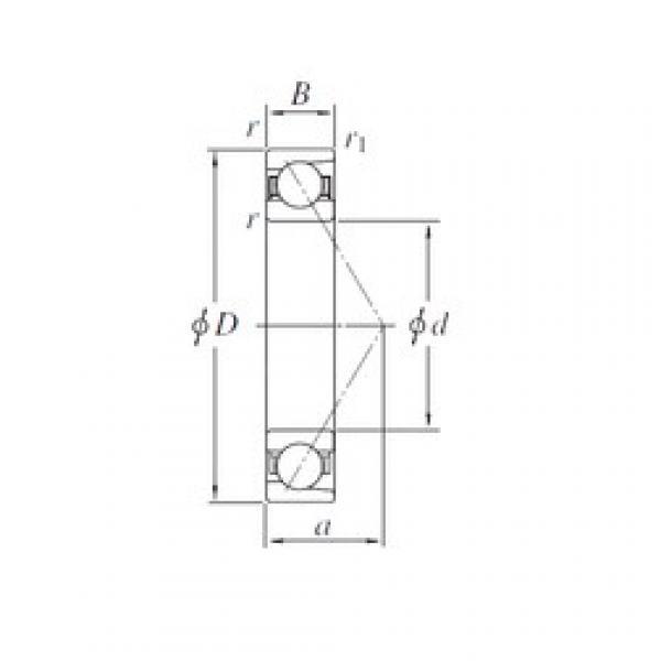 150 mm x 270 mm x 45 mm  KOYO 7230 angular contact ball bearings #5 image
