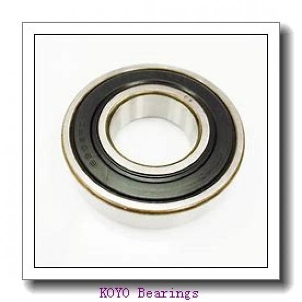 7 mm x 19 mm x 6 mm  KOYO F607ZZ deep groove ball bearings #4 image