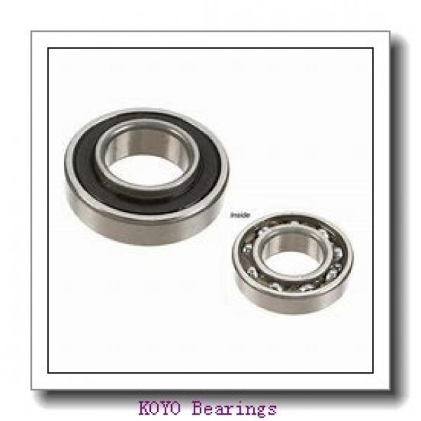 7 mm x 19 mm x 6 mm  KOYO F607ZZ deep groove ball bearings #2 image