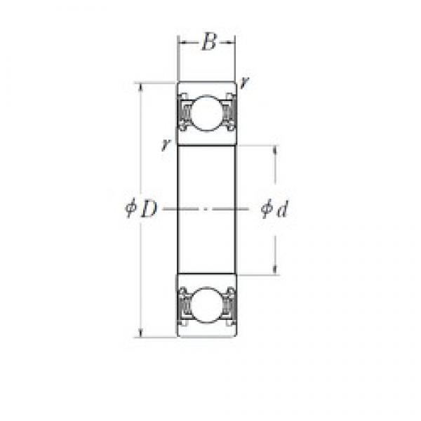 17 mm x 62 mm x 17,6 mm  NTN SX0344LLUCS20/L417 deep groove ball bearings #3 image
