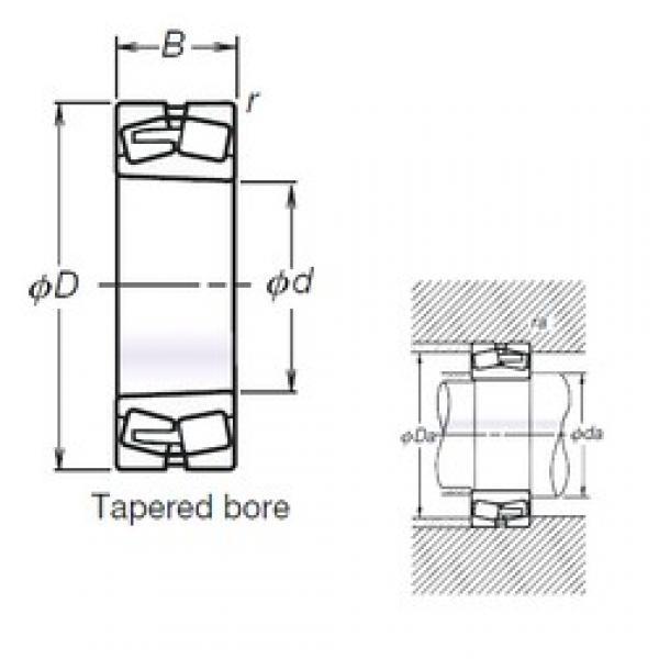 110 mm x 200 mm x 69,8 mm  NSK TL23222CKE4 spherical roller bearings #3 image